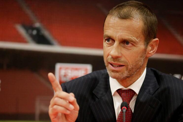 Carta foi endereçada a Aleksander Ceferin, presidente da UEFA