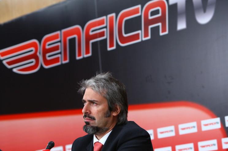O diretor da Benfica TV, Ricardo Palacin