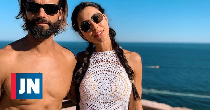 Kelly Baron declara-se ao companheiro Pedro Guedes