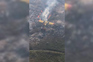 Bombeiro espanhol capta imagens do local do acidente com Canadair no Gerês