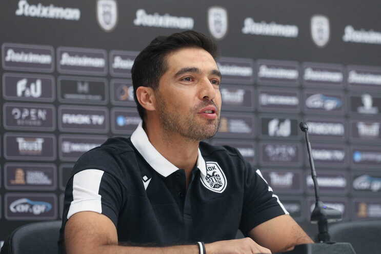Abel Ferreira, treinador do PAOK
