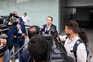 José Fernando Rio fala aos jornalistas após a votação