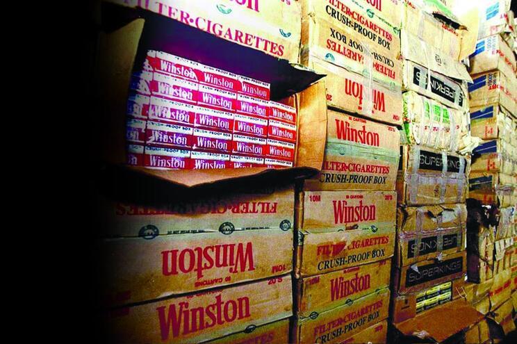 Contrabando de tabaco com apreensão recorde