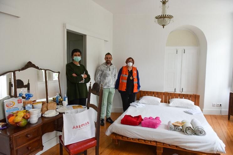 Equipa da Junta de Freguesia de Arroios preparou as instalações para acolher os doentes de Covid-19