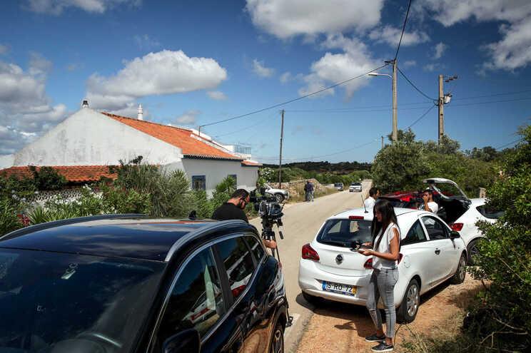 Antiga casa do suspeito do caso Maddie em Lagos, no Algarve