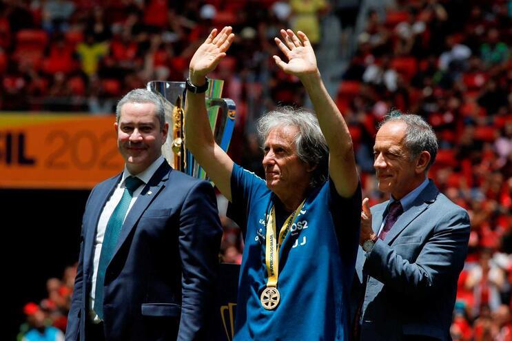 Jorge Jesus conquista mais um troféu ao serviço do Flamengo