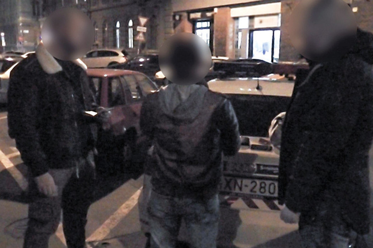 Polícia da Hungria divulgou imagens da detenção de Rui Pinto, numa operação conjunta com a Judiciária