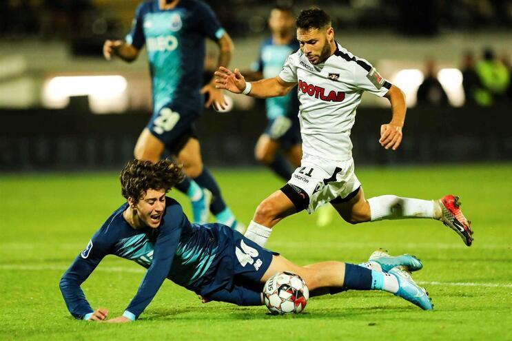 O F. C. Porto venceu o Casa Pia