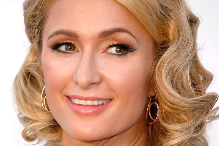 Paris Hilton esteve em Portugal em 2014 patrocinada pela GetEasy para promover a marca