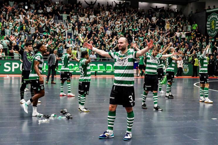 O Sporting venceu o Benfica este domingo