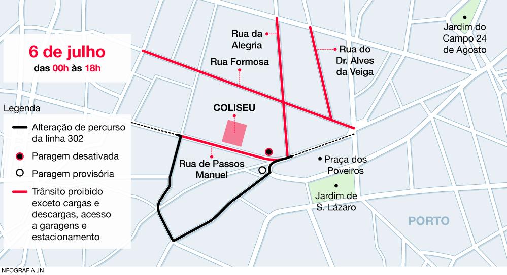 Cimeira com Barack Obama corta trânsito na Baixa do Porto