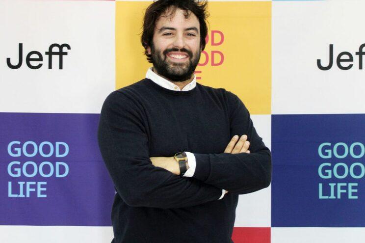 Eloi Gomez, CEO e Co-fundador da Jeff