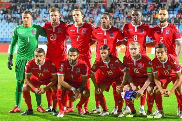Promessa de 17 anos nos convocados do Luxemburgo para embate com Portugal