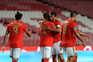 Benfica e Moreirense defrontaram-se este sábado