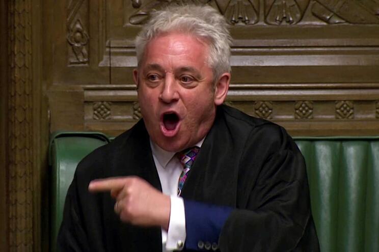 Order! Presidente da Câmara dos Comuns John Bercow diz adeus a Westminster
