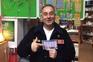 Humberto Valentim, dono da loja onde saiu o Euromilhões, em Mafra