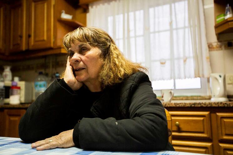 Celeste Silva perdeu o marido nas urgências do hospital de Lamego