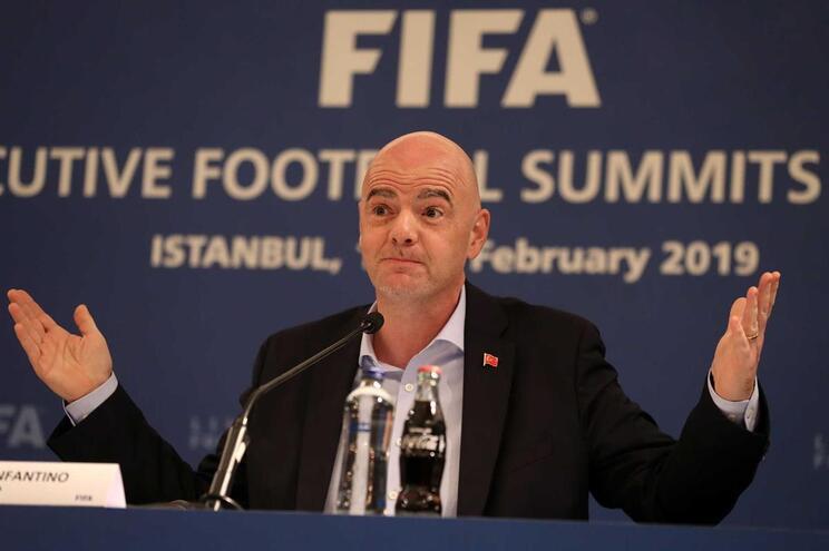 Giovanni Vincenzo, presidente da FIFA