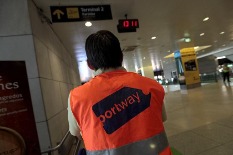 Primeiro dia de greve da Portway com adesão entre 80% e 85%