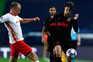 Leipzig e Atlético de Madrid defrontaram-se esta quinta-feira