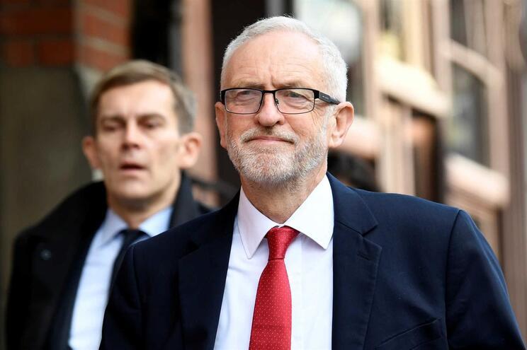 O líder do Partido Trabalhista, Jeremy Corbyn