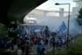 Multidão na chegada do F. C. Porto ao Estádio do Dragão