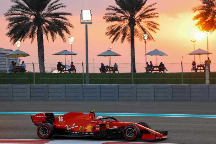 Charles Leclerc, piloto da Ferrari