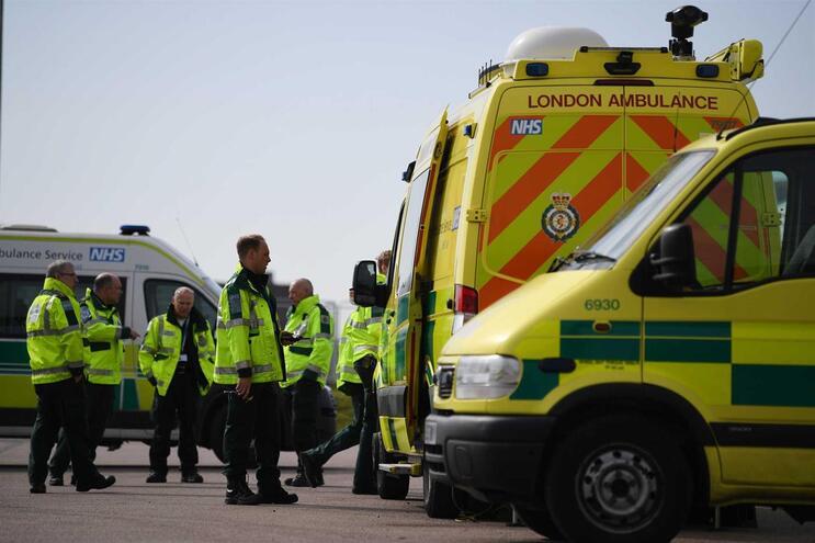 Já morreram 2.352 pessoas com Covid-19 no Reino Unido