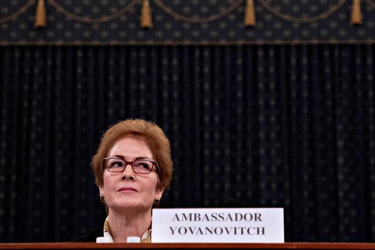 Marie Yovanovitch, ex-embaixadora dos EUA na Ucrânia