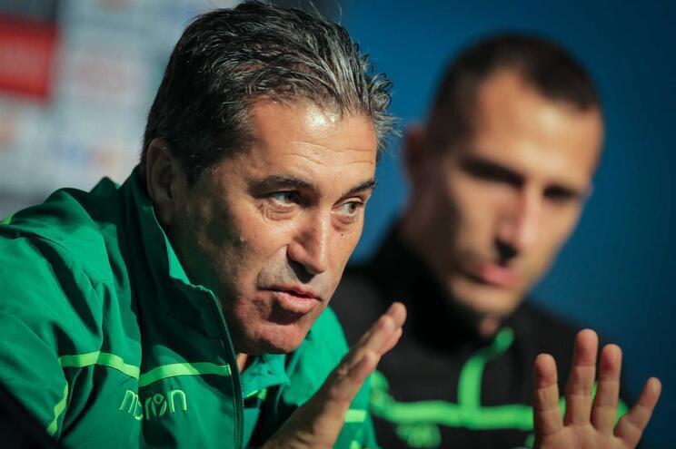 """José Peseiro e o jogo com o Estoril: """"Até antecipou o jogo com o Varzim"""""""