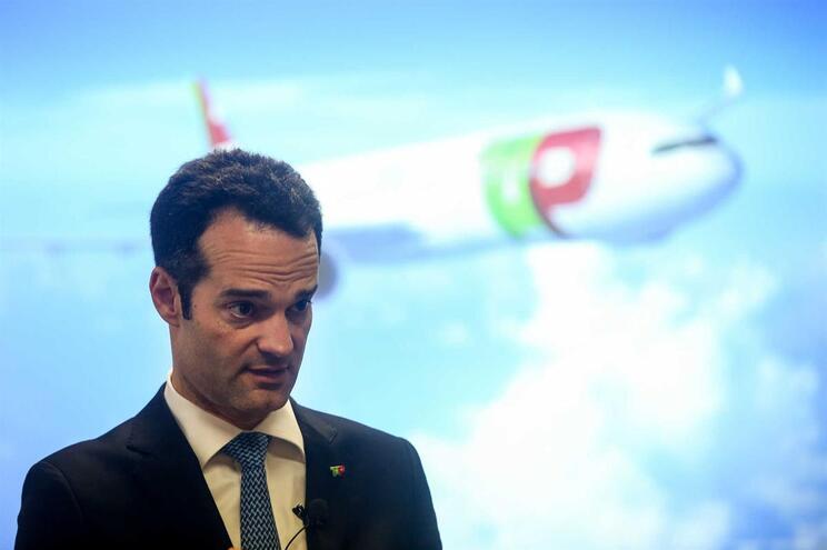 Presidente da Comissão Executiva daTAP, Antonoaldo Neves