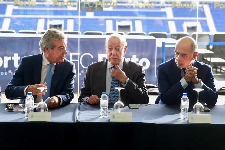 Fernando Gomes, Pinto da Costa e Adelino Caldeira