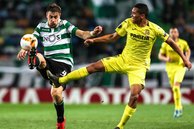 Reveja o comentário do jogo do Sporting com o Villarreal