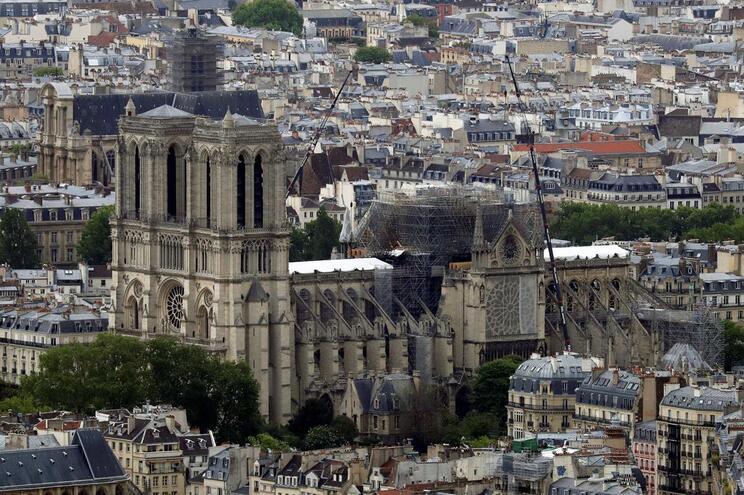 A catedral de Notre-Dame, em Paris