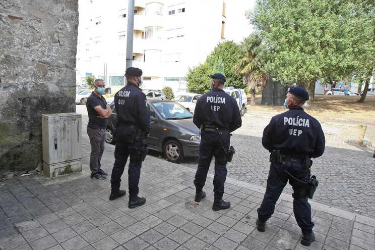 Bairro do Viso, um dos locais abrangidos por megaoperação da PSP