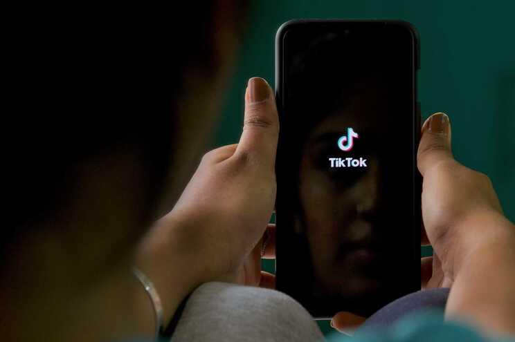 TikTok, rede social de partilha de vídeos