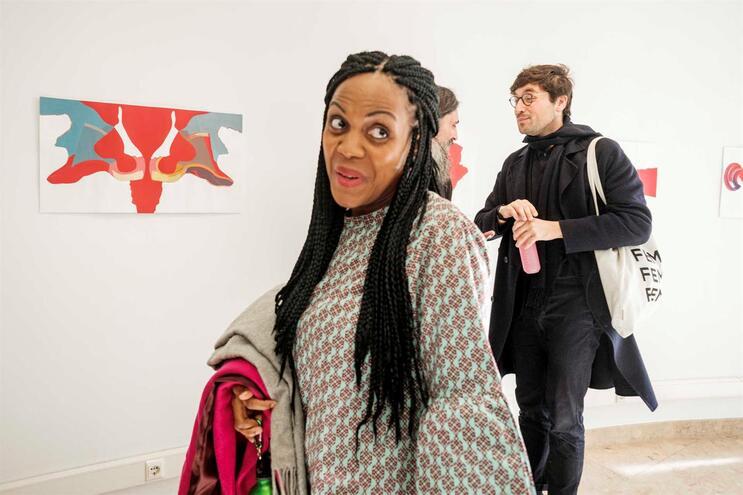 Joacine Katar Moreira, deputada do Livre
