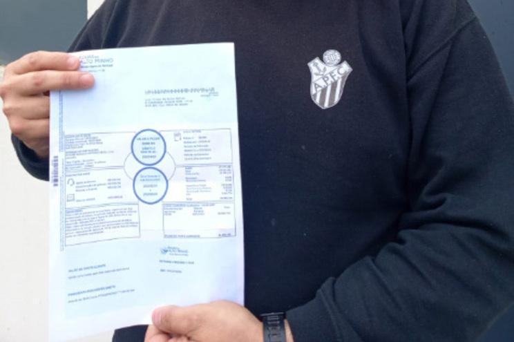 Um consumidor recebeu há dias uma fatura da água no valor de mais de 50 mil euros