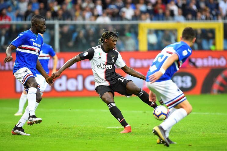 Juventus sem Ronaldo e Cancelo perde com Sampdoria na despedida de Allegri