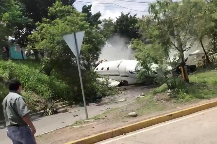 Avião caiu esta terça-feira nas Honduras