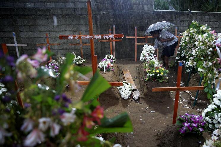 Autoridades baixam número de mortos para 253 no Sri Lanka