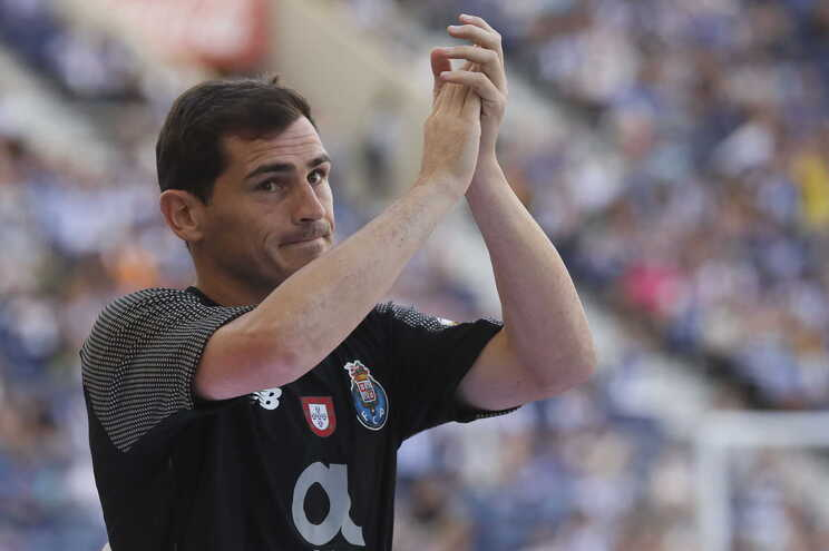 Casillas, ex-guarda-redes do F. C. Porto