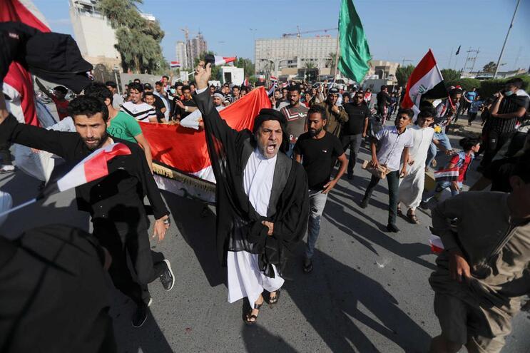 Iraque tem sido palco de vários protestos contra o Governo