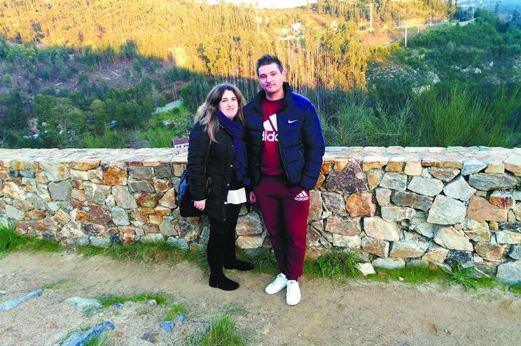 Valdir Ferreira e a mulher, Patrícia Silva, socorreram sexagenário