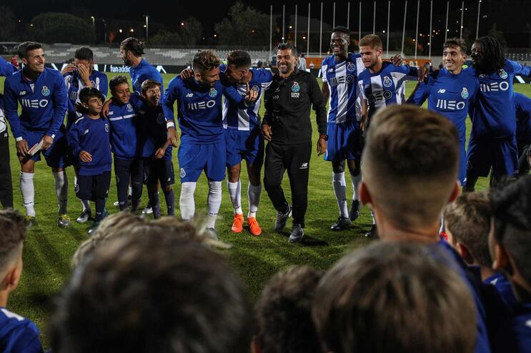 O onze do F. C. Porto para o duelo com o Bétis