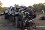 Dois mortos num despiste seguido de incêndio em Mora