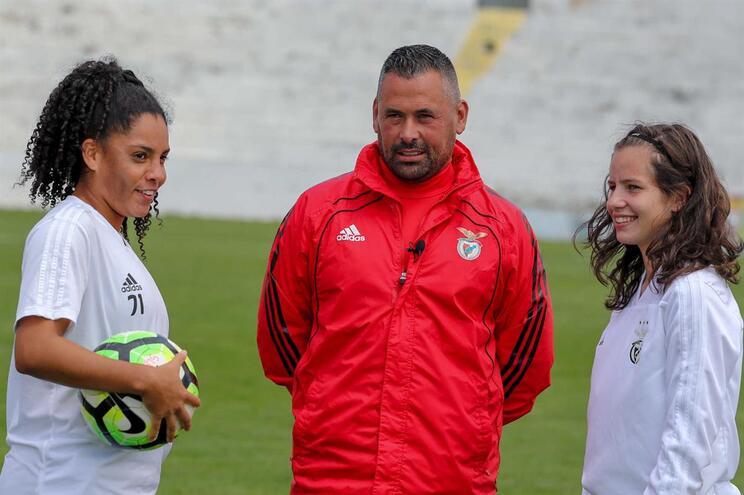 João Marques foi o primeiro treinador da equipa feminina do Benfica