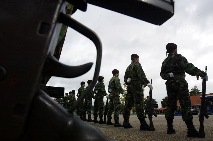 """Exército garante que militares estavam a fazer exercícios """"aligeirados"""""""