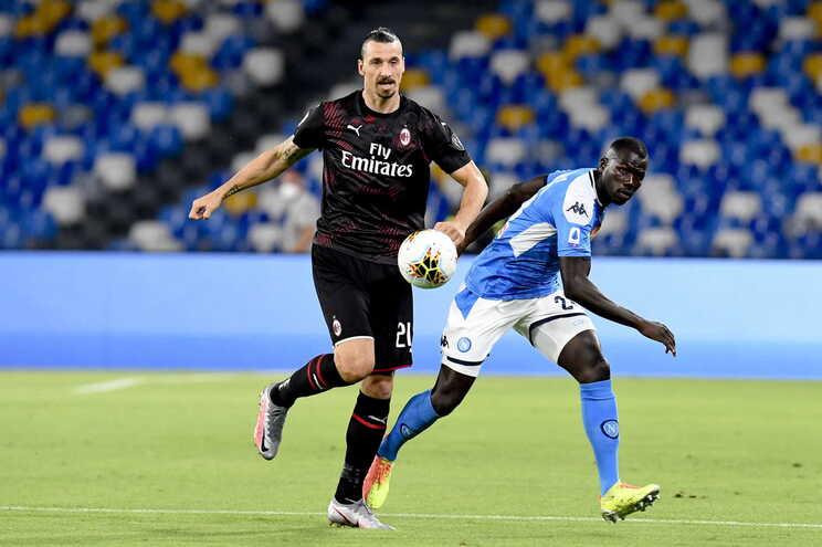 Nápoles e AC Milan empataram