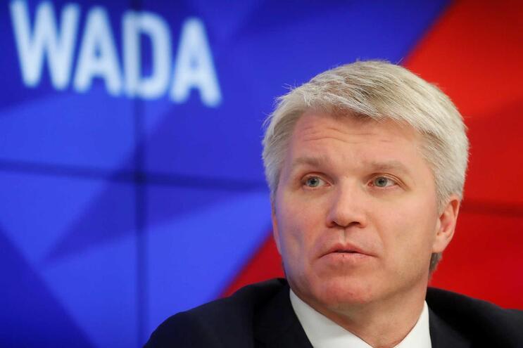 O ministro russo do Desporto, Pavel Kolobkov